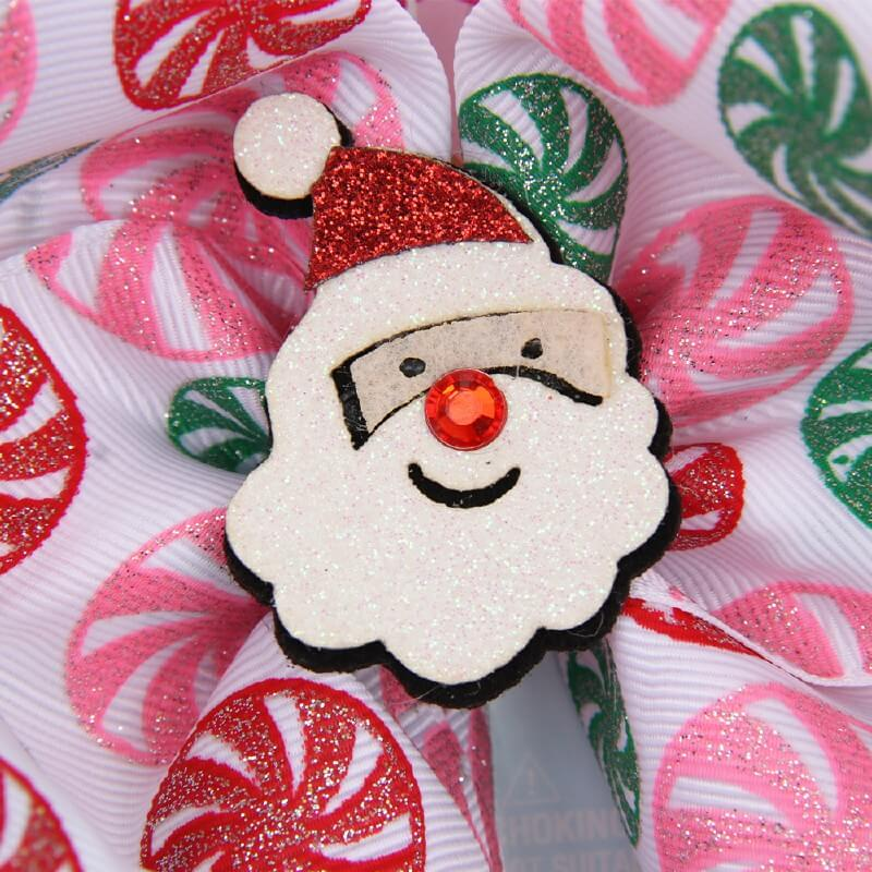 Christmas Santa Jojo Hair Bows