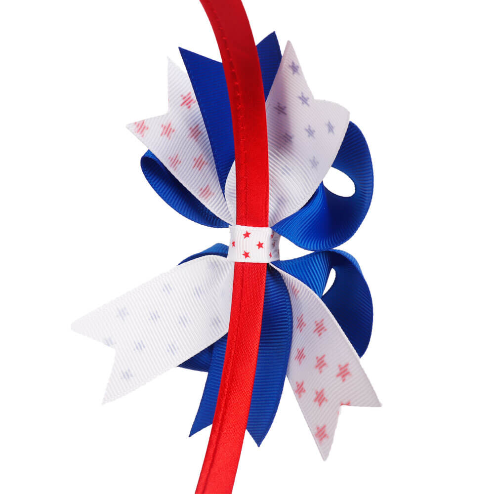 4th of July Bow Hairbands