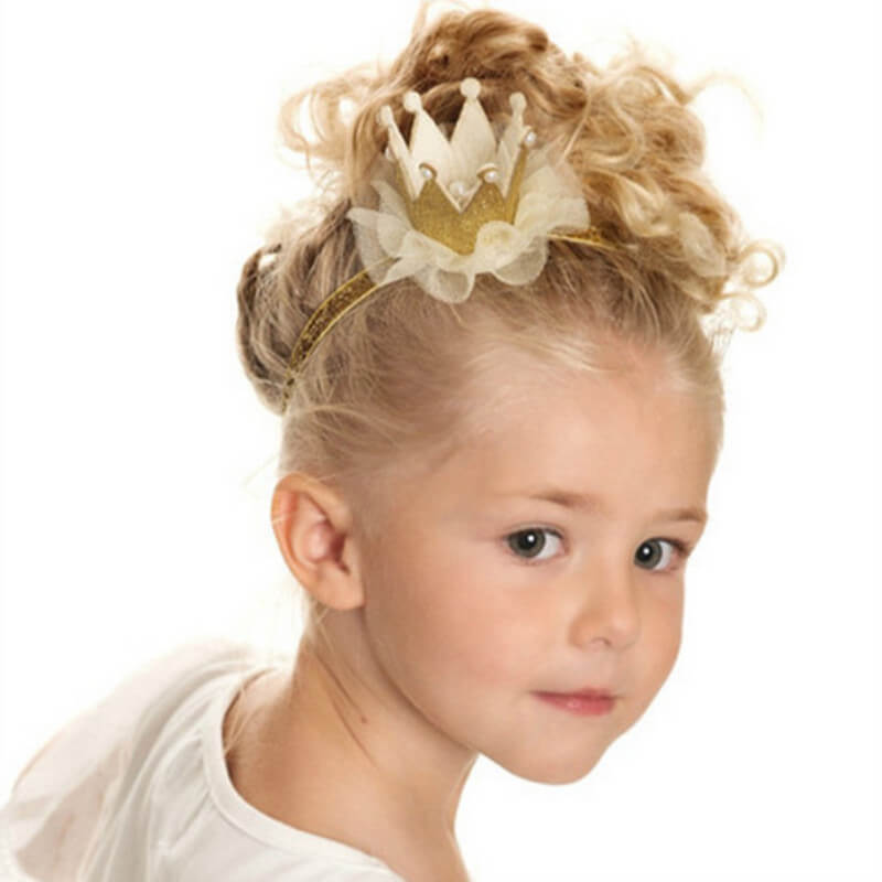 Pearl Crown Headbands