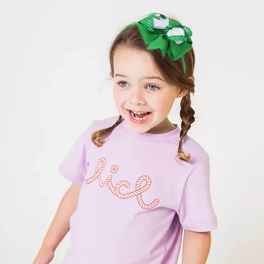 Boutique Layered Bow Hairbands for Girls