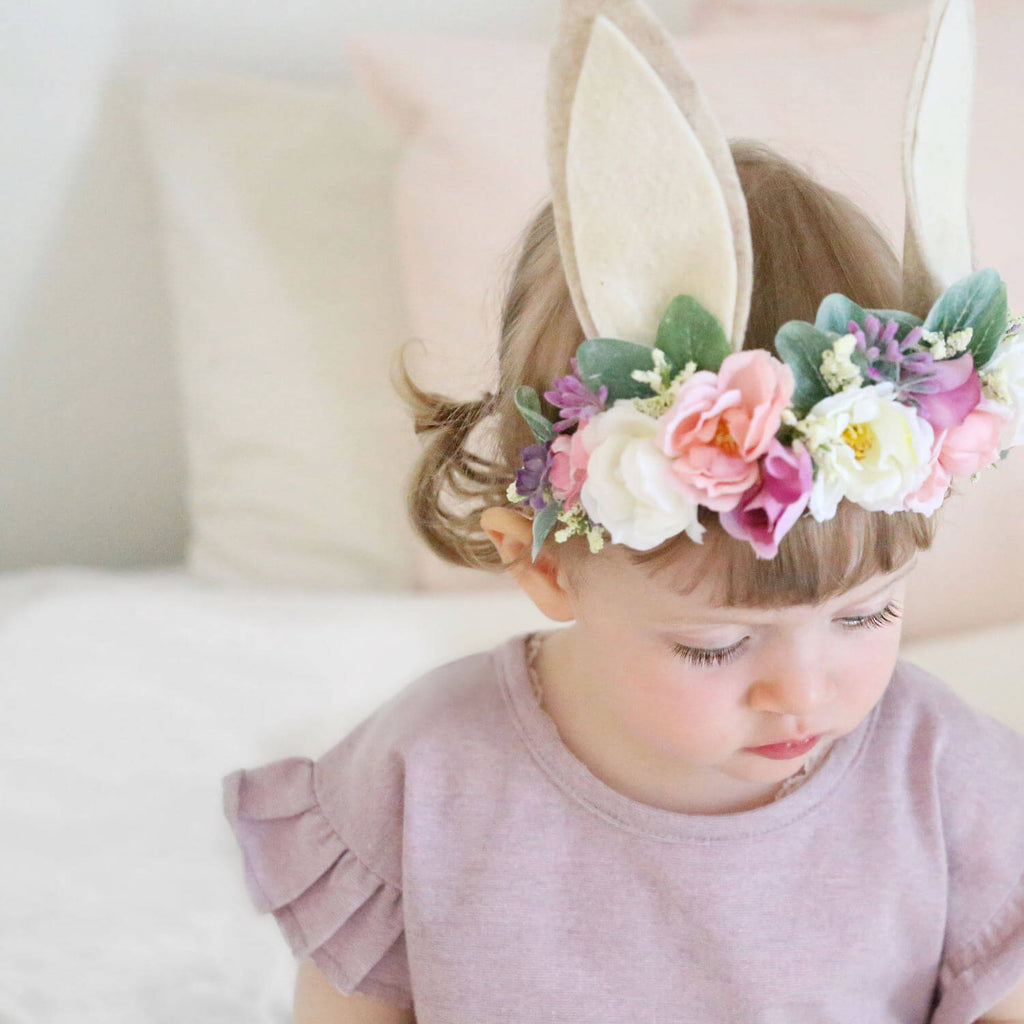 flower baby headbands