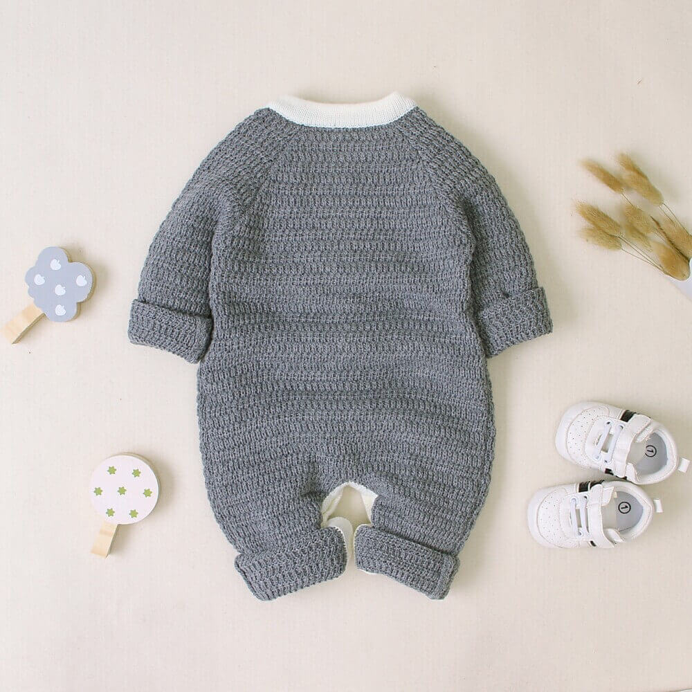Long Sleeve Baby Romper Crawling Suit