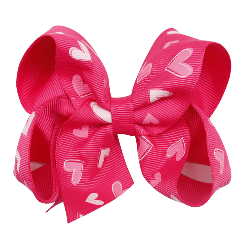 Grosgrain Valentine's Day Hair Bows