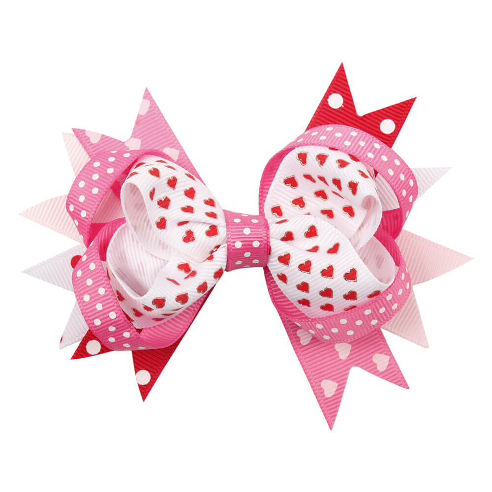 Wedding Valentine's Day Hair Bows