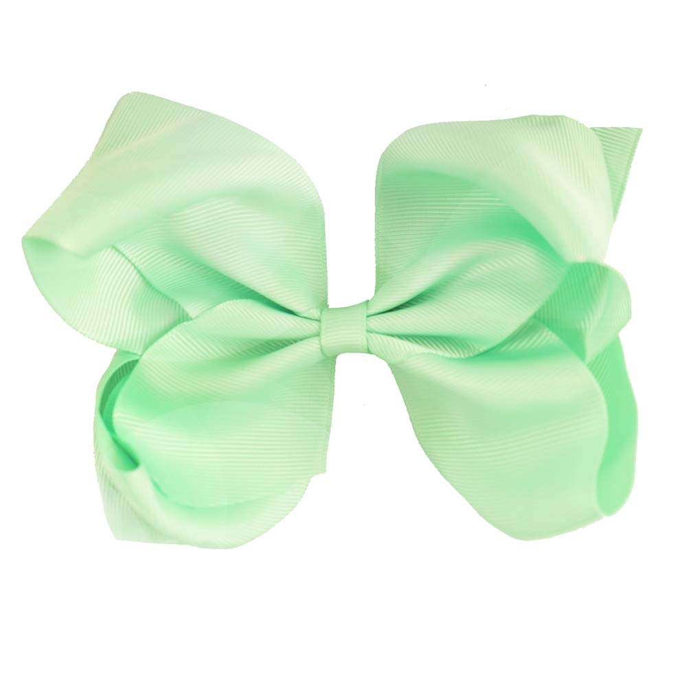 "6"" Solid Color Hair Bows 61 Colors Available"