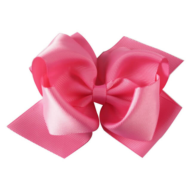 20pcs 6'' Double Layers Solid Hair Bows Bulk
