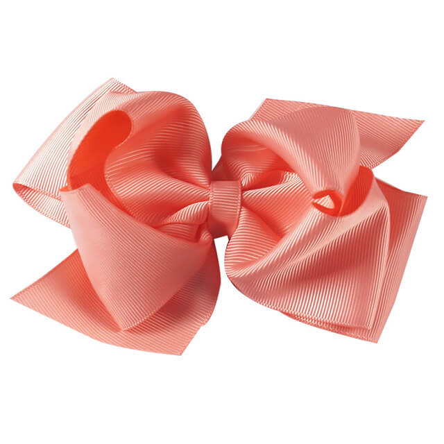 6'' Double Layers Solid Hair Bows