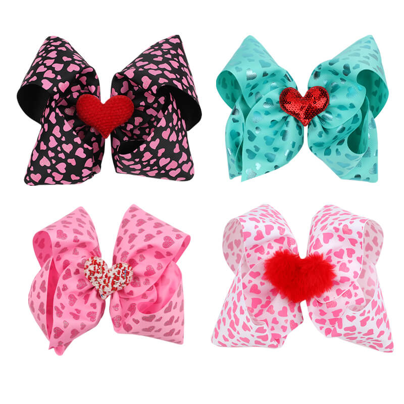 Large hair bow for girls