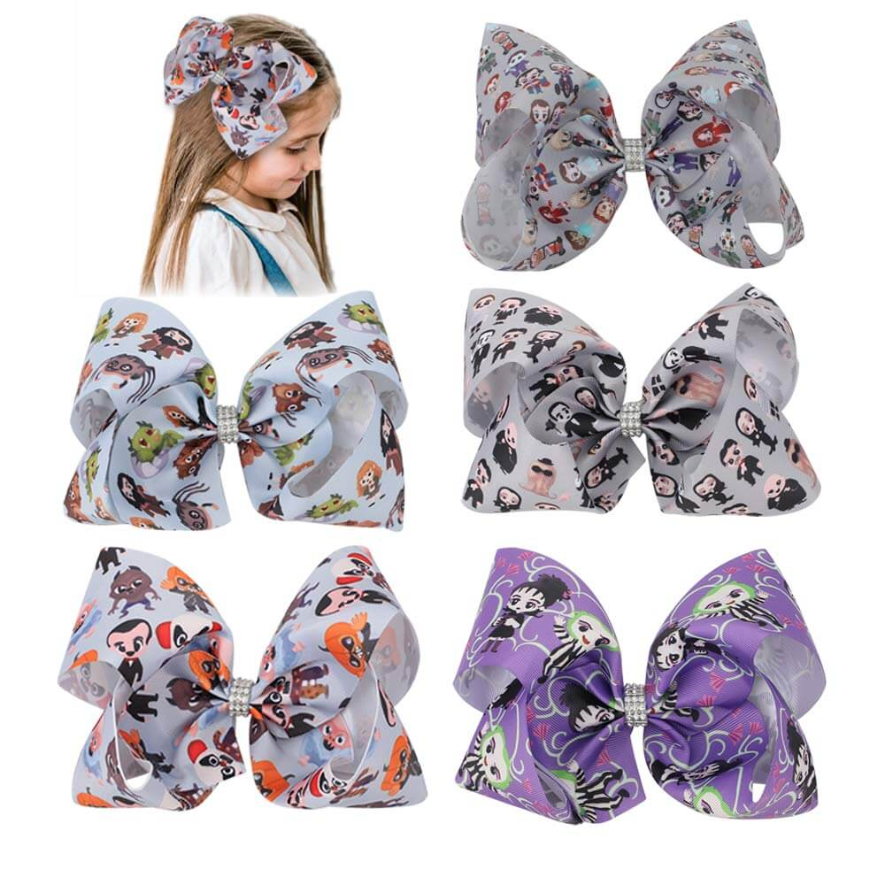 7'' Large Cartoon Hair Bows