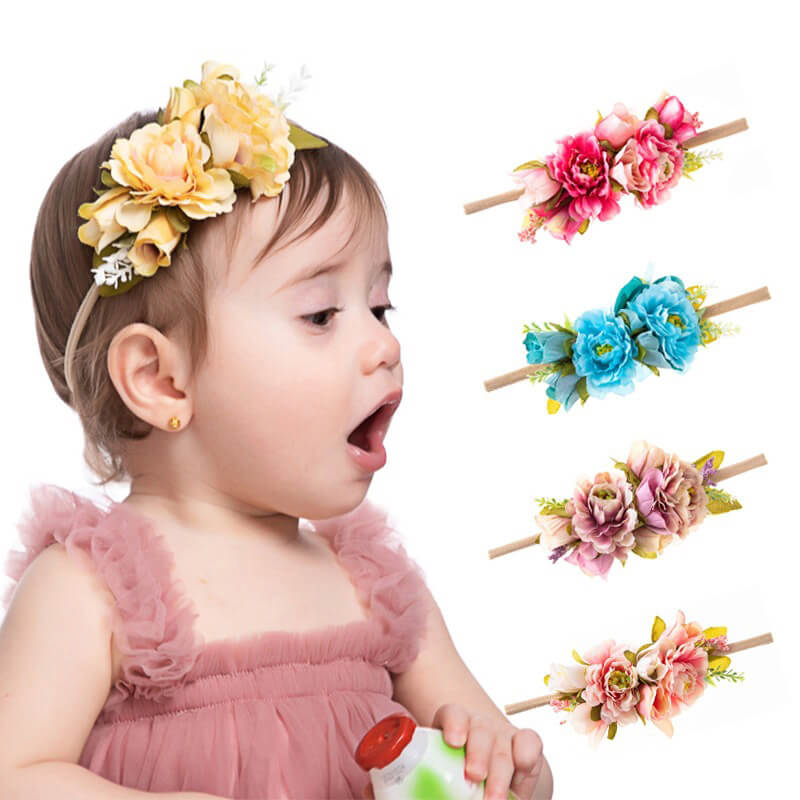 Toddler Girl Flower Headbands