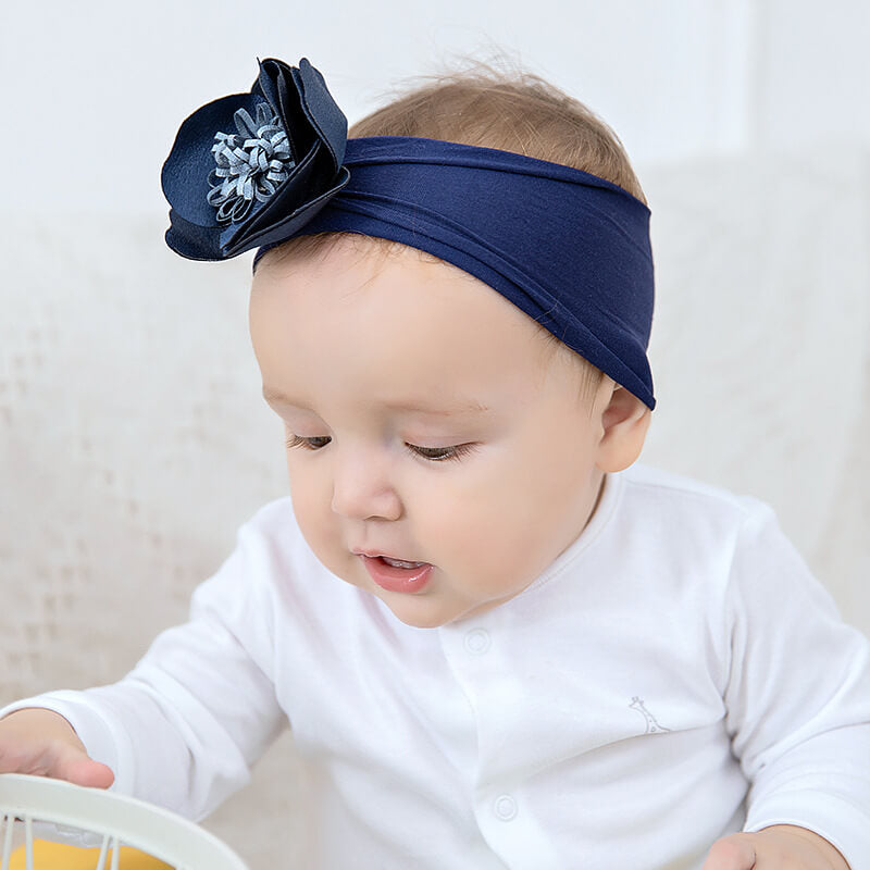 Flower Elastic Baby Headbands
