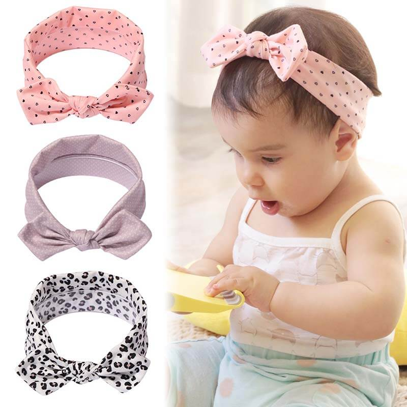 Soft Stretch Baby Headbands