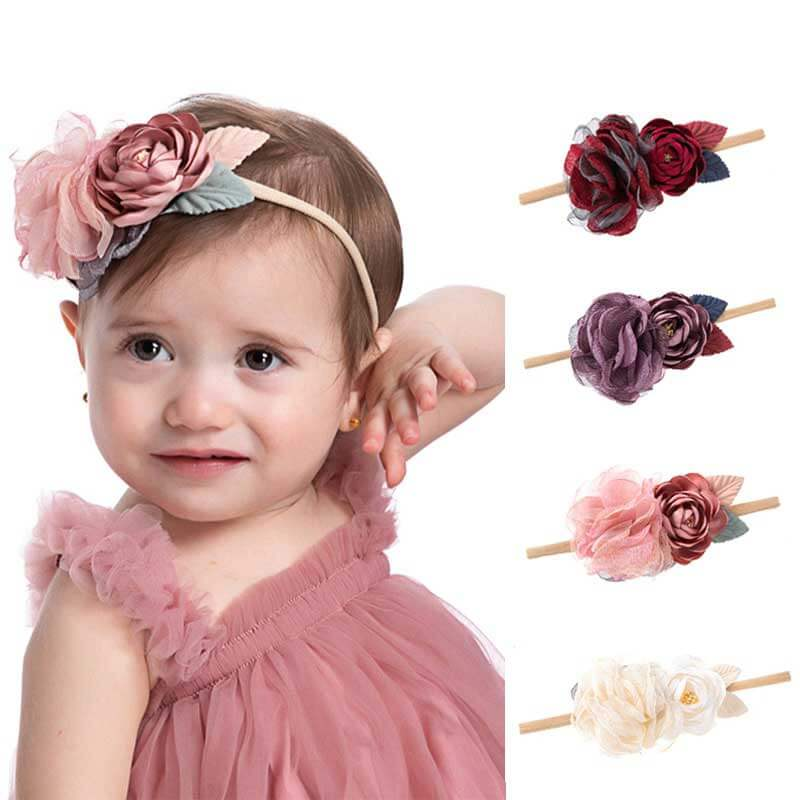Flower Nylon Headbands