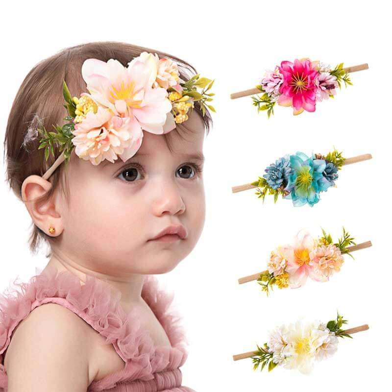 Soft Nylon Baby Headbands