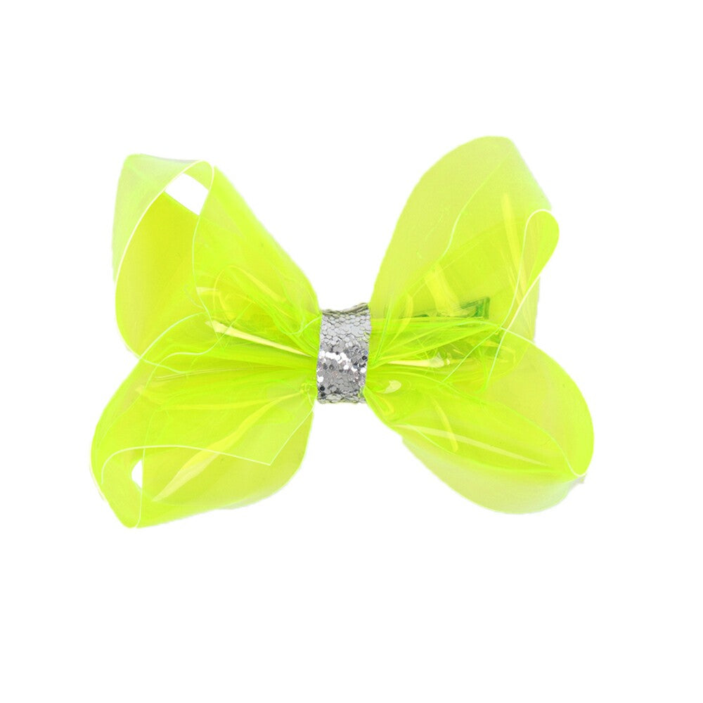 Summer Swim Party Transparent Jelly Hair Bows
