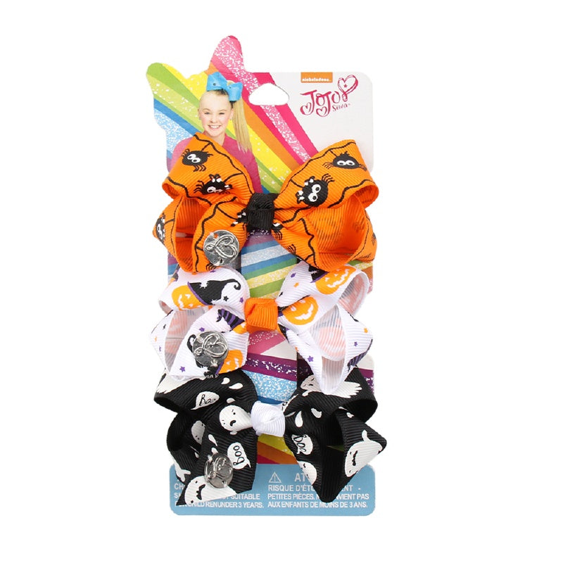 Halloween 3 Mini Jojo Hair Bow Set