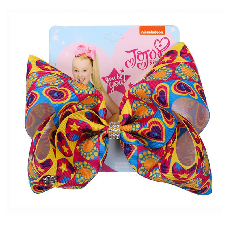 Valentine's Day Heart Jumbo Jojo Hair Bows
