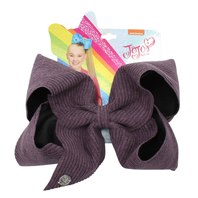 Big Corduroy Winter Jojo Hair Bows