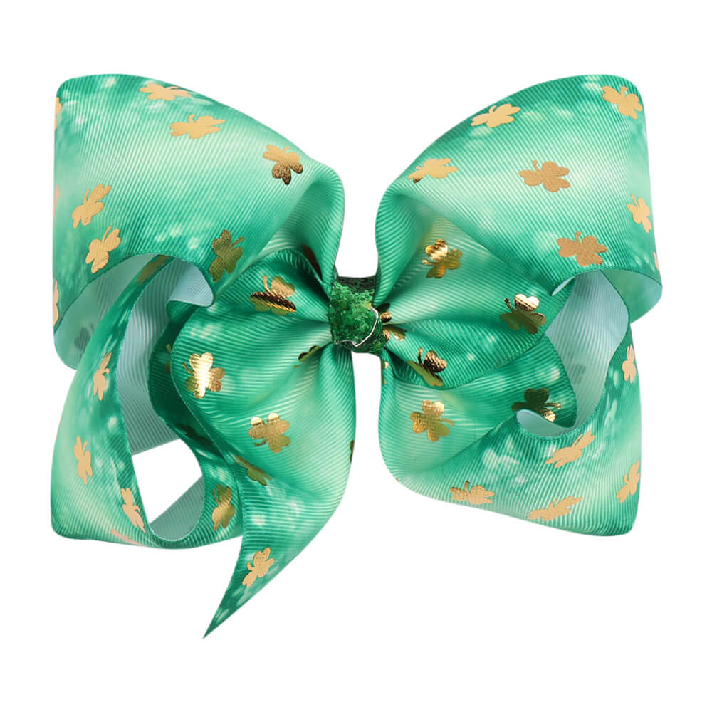St. Patrick's Day 7'' Hair Bows