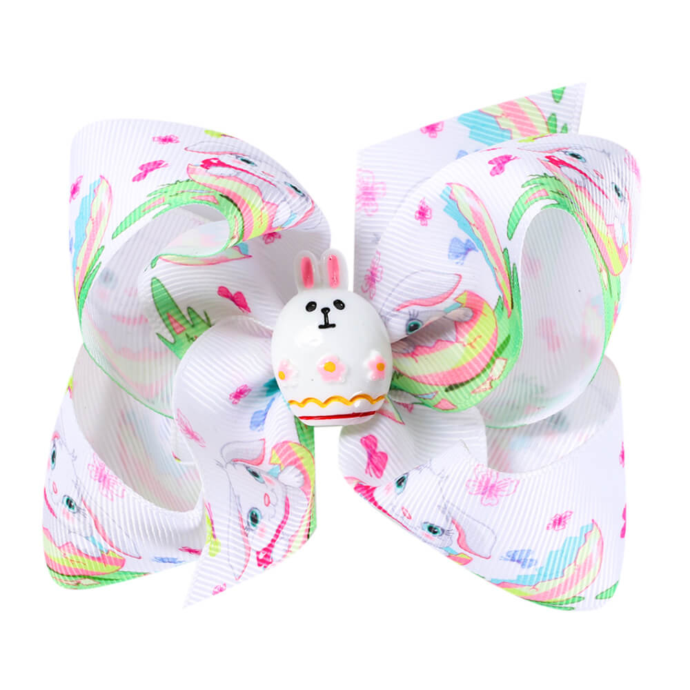 5'' Cute Easter Day Hair Bows
