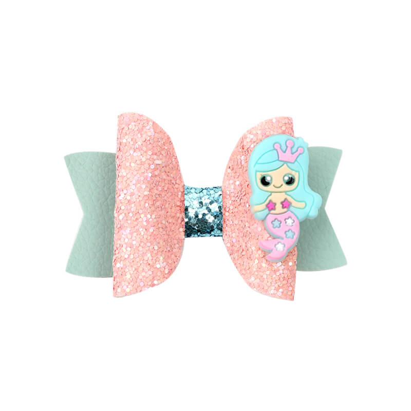 Cute Mermaid Glitter Hair Clip