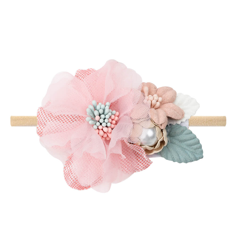artificial flower headband
