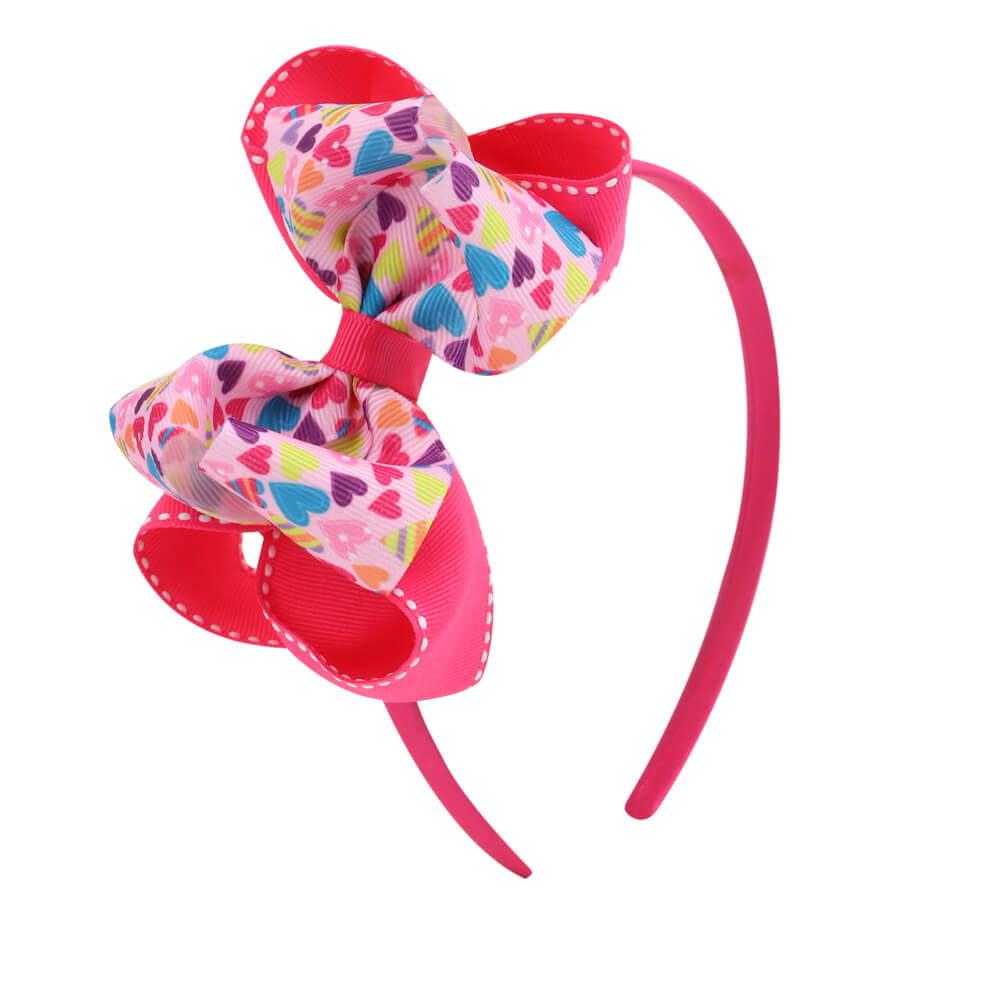 love heart hairbands