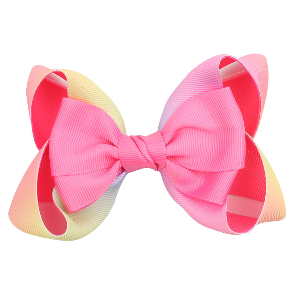 gradient hair bows