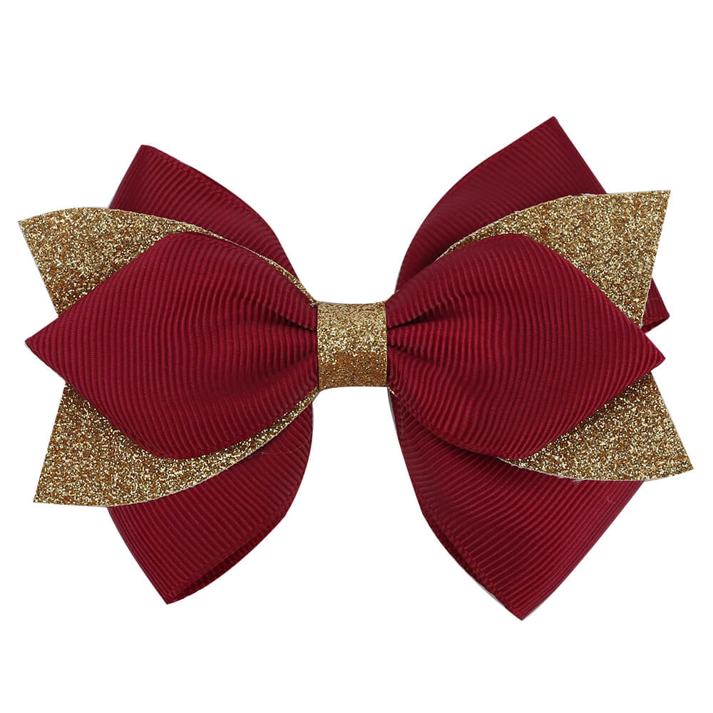 grosgrain hair bows