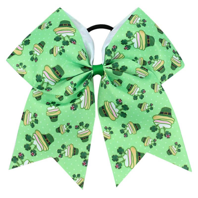 Clover Cheer Bows