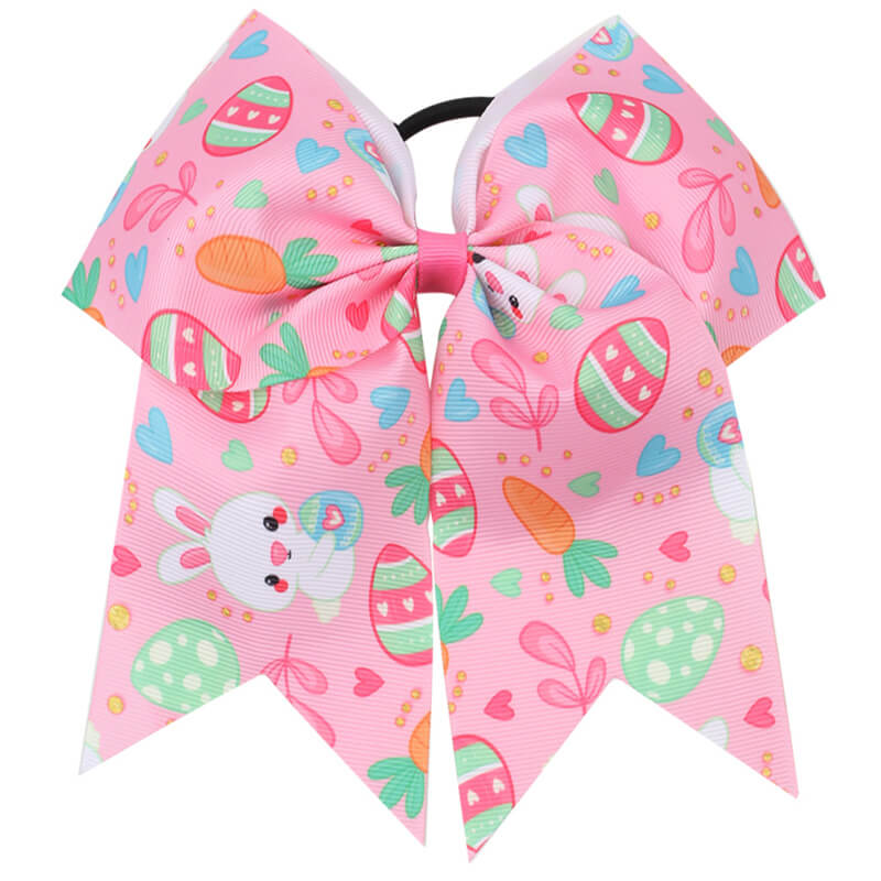 pink cheer bow for girls