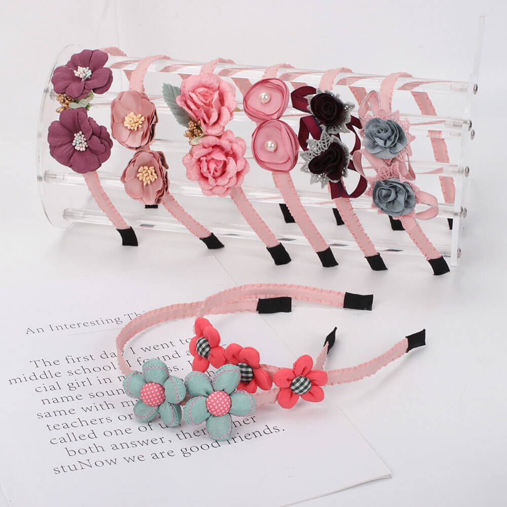 Cute Flowers Girl Headbands