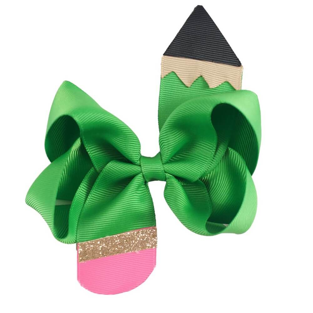 Kids Cute Pencil Hair Bows