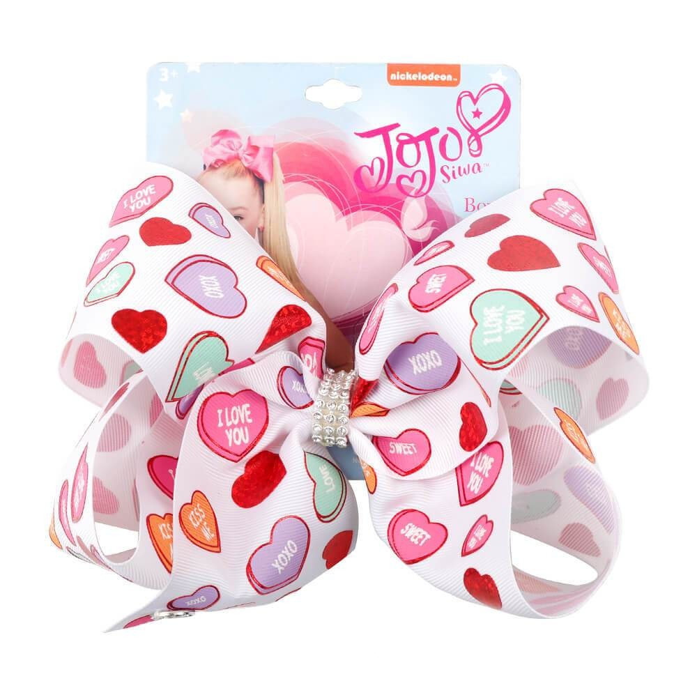 Valentine's Day Cute Jojo Hair Bow