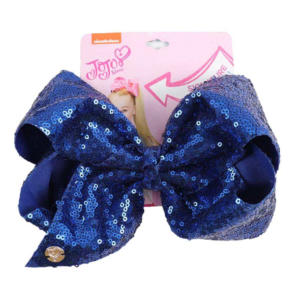 Large Sequin Jojo Hair Bows