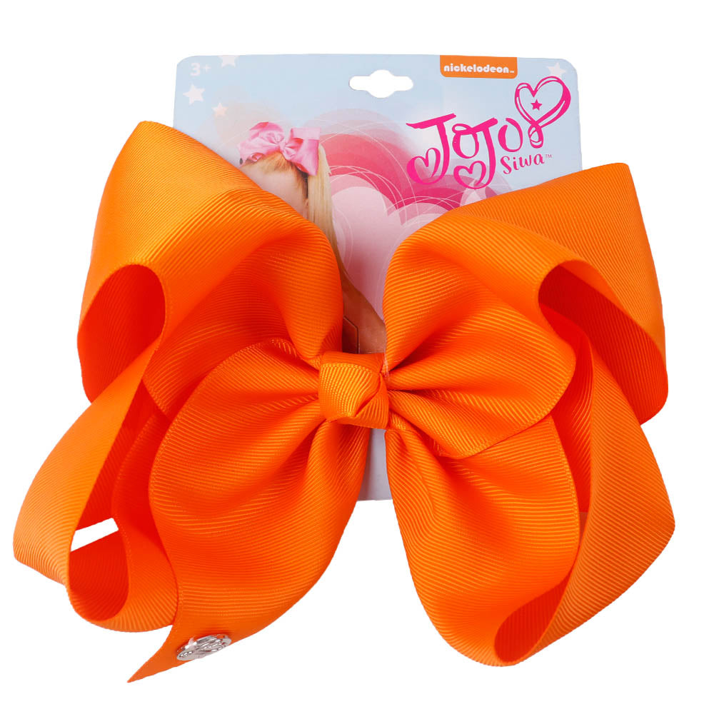 Big Soild Color Jojo Hair Bows