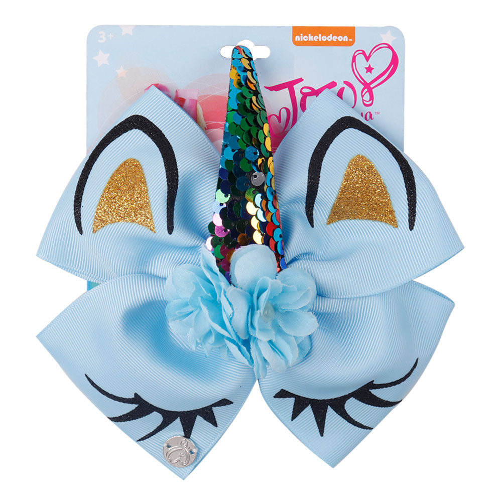 Cute Unicorn Jojo Hair Bows