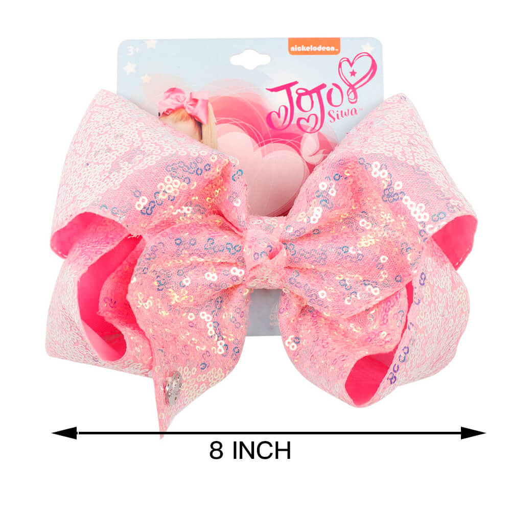 Candy Color Sequin Hair Bows