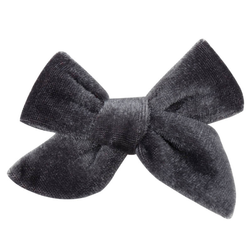 Velvet Hair Clips | Infant Hair Clips