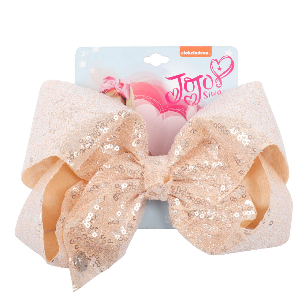 Candy Color Sequin Jojo Hair Bows