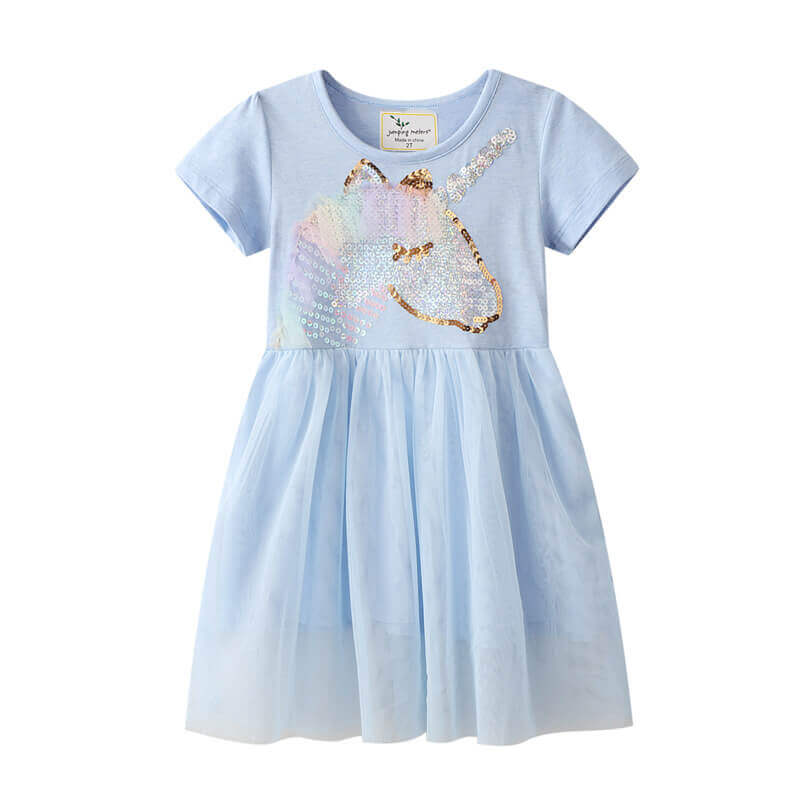 Unicorn Tulle Dress for Girls