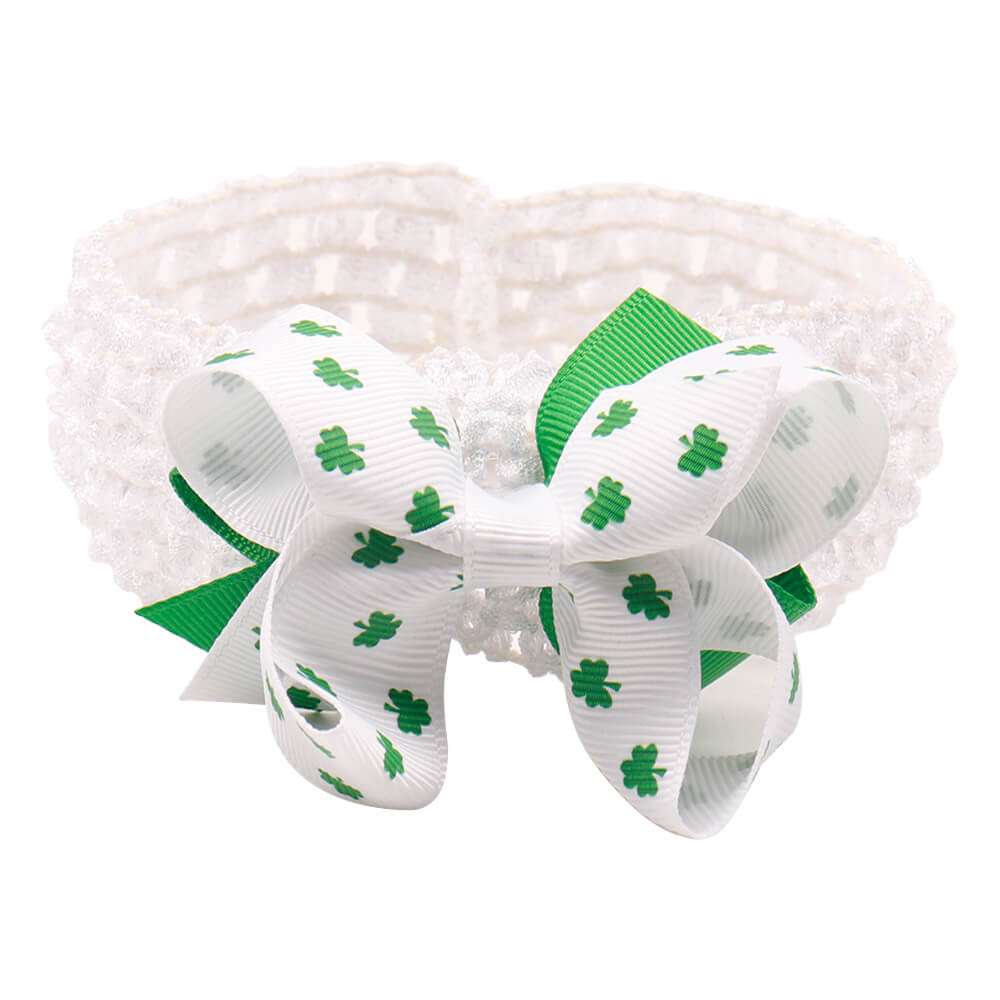 St. Patrick's Day Newborn Headbands | Stretchy Headband