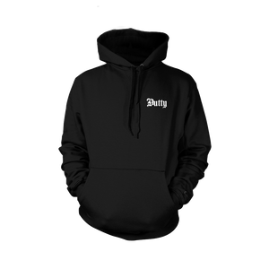 Dutty Small Logo Black Hoodie