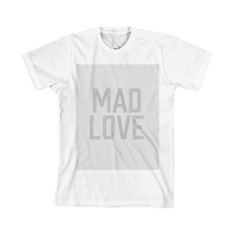Mad Love White Tee + Digital Album