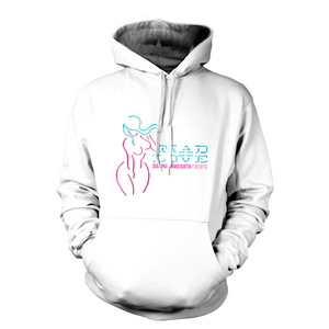 Mad Love Hoodie (White) + Digital Album