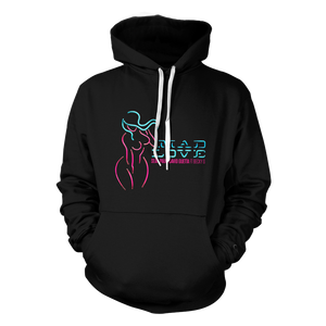 Mad Love Hoodie (Black) + Digital Album
