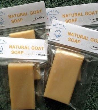 Mini Size Soap - Natural Goat Soap with Palm Oil