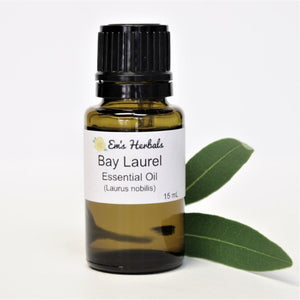 Bay Laurel (Laurus nobilis) Essential Oil, Certified Organic