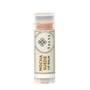 Mocha Suede Lip Balm, 0.15 oz tubes, Carton of 12