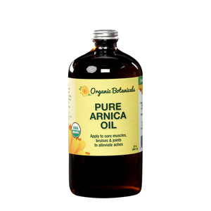 Pure Arnica Infused Oil, Certified Organic